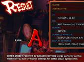 Street Fighter IV – Benchmark Jeux
