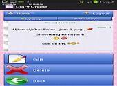 Diary Online Bureautique