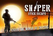 Sniper Stick Escape Jeux