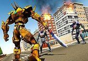 Futuristic Robots War Hero 3D Jeux