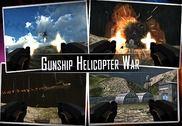 Gunship hélicoptère guerre 3D Jeux