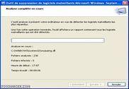 Microsoft - Outil de suppression des logiciels malveillants