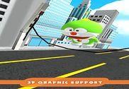 Green Robot Cat Copter Surfers Jeux