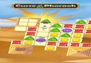 Malédiction du Pharaon Match 3 Jeux