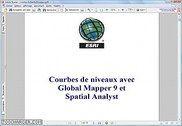 Courbes de niveaux avec Global Mapper 9 et Spatial Analyst Sciences