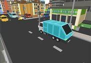 Garbage Truck Parking Jeux