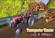 Transporter Tractor Log & Silage Jeux