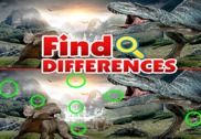 Jurassic Dinosaur Evolution World Find Differences Jeux