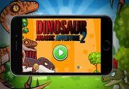 Bataille des dinosaures guerre Jeux
