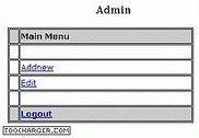 ASP DB Admin Control ASP