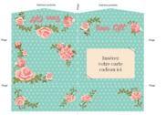 Pochette carte cadeau rose