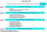 Cours Bardon - Excel 2007