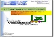 VBA Excel 2003 Informatique