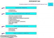 Cours Bardon - Powerpoint 2003 Informatique
