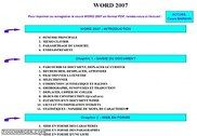 Cours Bardon - Word 2007 Informatique