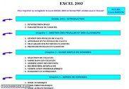 Cours Bardon - Excel 2003 Informatique