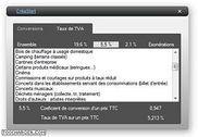 CréaStart Utilitaire de TVA