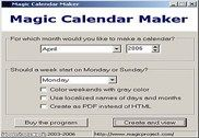 Magic Calendar Maker Bureautique