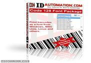 IDAutomation Code 128 Barcode Fonts Bureautique