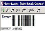 Barcode Generator for Microsoft Access Bureautique