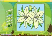 Color by Numbers - Flowers Jeux