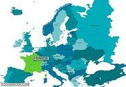 Carte interactive de l'Europe en Flash Flash
