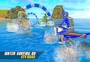 Cavalier quad-surf sur l'eau Jeux