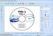 SmartPrintLab CD DVD Label Maker Maison et Loisirs