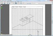 Cahier avec grilles pour dessiner en perspective isométrique Spécialités diverses
