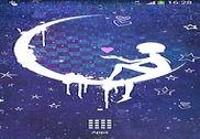 Anna Blue Night Live Wallpaper Internet