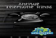 Anneaux de téléphone antique Internet