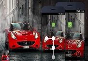 AppLock Theme - Super Car Internet