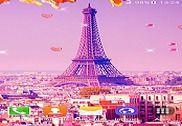 Paris Fond d'écran Animé Internet