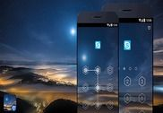 AppLock Theme - Night Sky Internet