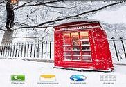 Londres Neige Fond Animé Internet