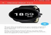 Minimal Watch Face Internet