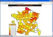 France-Map PHP