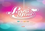 Valentine Day Greeting Cards Maison et Loisirs