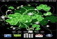 Lucky Clovers Live Wallpaper Personnalisation de l'ordinateur