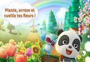 Panda et le jardin des fleurs Jeux