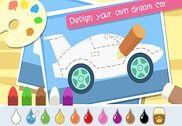 Happy Car Designer Funny Game Jeux