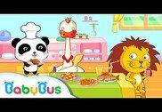 Chef cuisinier - Cuisine Panda Jeux