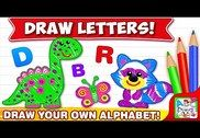 ABC DRAW! Alphabet games Preschool! Kids DRAWING 2 Jeux