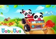 Baby Panda Course de voiture Jeux