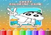 Shinchan Coloring Game Jeux