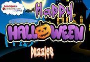 Joyeux Halloween Puzzles Shape Jeux