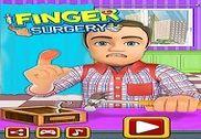 Finger Surgery ER Emergency : Doctor & ICU Game Jeux