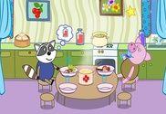 Bébé Cuisson: Enfants Café Jeux