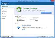 Agnitum Outpost Firewall Pro Sécurité & Vie privée