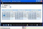 Sélecteur de date pour formulaire - date picker PHP